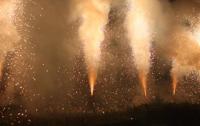 大迫力‼ 一色の手筒花火