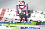 紙パイプ組み立てロボット