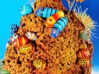 おさかなの家(サンゴのイメージ)