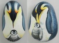 ペンギン親子